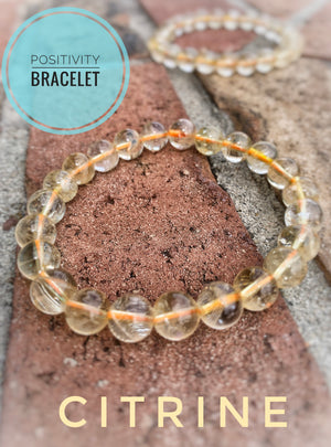 The Positivity Bracelet (Citrine 8MM)