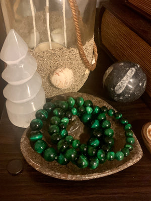 "Green Tiger ""Success"" Healing Bracelet (8MM, 10MM & 12MM)"