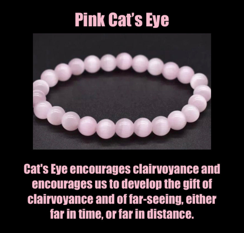 "The ""Breakthrough"" Cat's Eye Healing Bracelet (8MM)"
