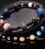 This Center Of The Universe Bracelet(solar system) - The Magic Moon Garden