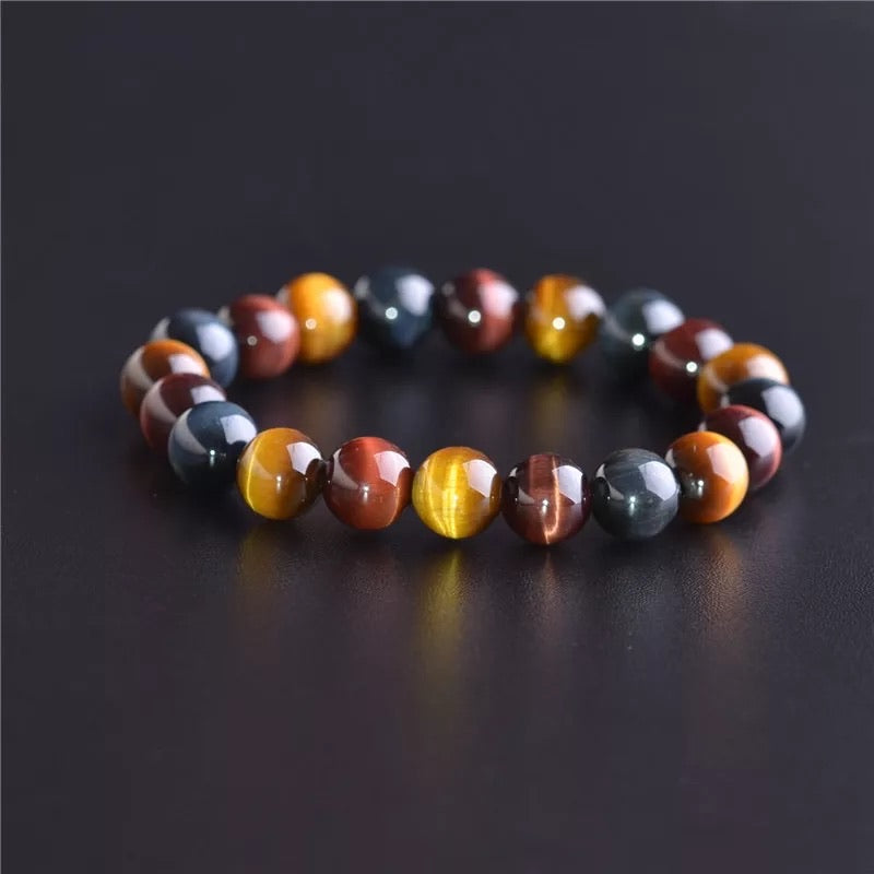 Tiger Protection Bracelet 8MM & 10MM (Willpower • Strength • Good Fortune)