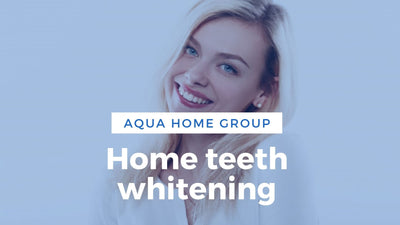 Home teeth whitening. White diet.