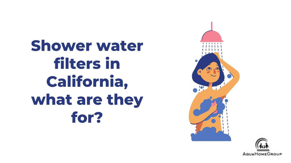 Shower water filters in California