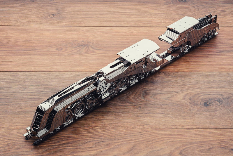 Time for Machine Mechanical Metal 3D Puzzle DAZZLING STEAMLINER Model assembly