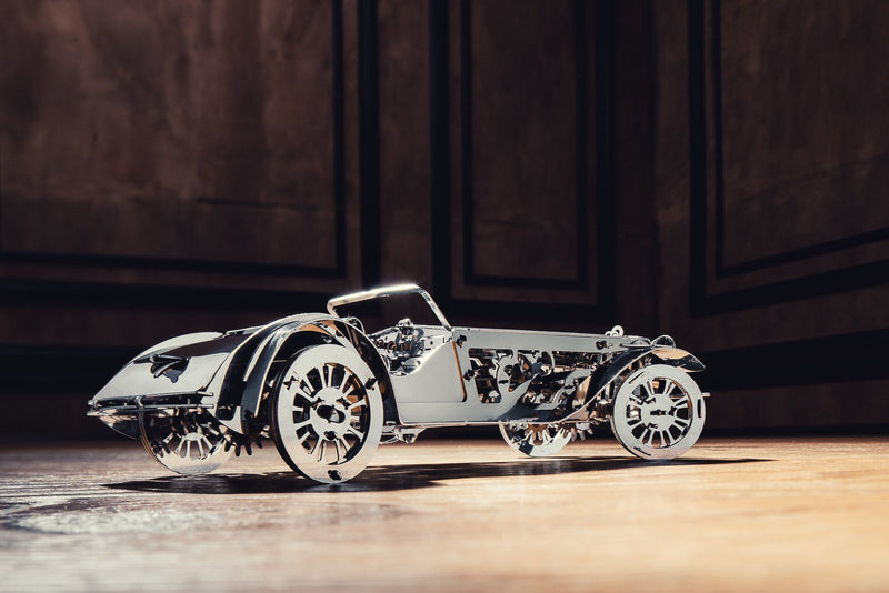 Glorious Cabrio, 3d metal model, Time 4 Machine, model building kit