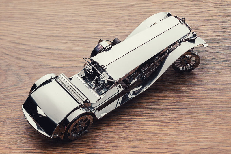 Glorious Cabrio, metal model kit, Time 4 Machine, puzzles for adults