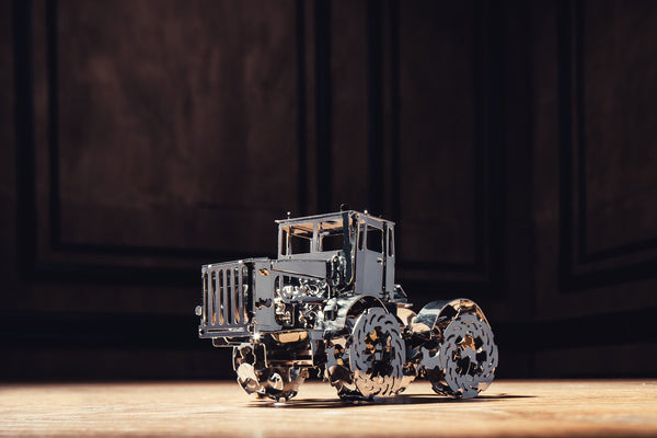 Hot Tractor, Metal toy, Time 4 Machine, DIY metal toy
