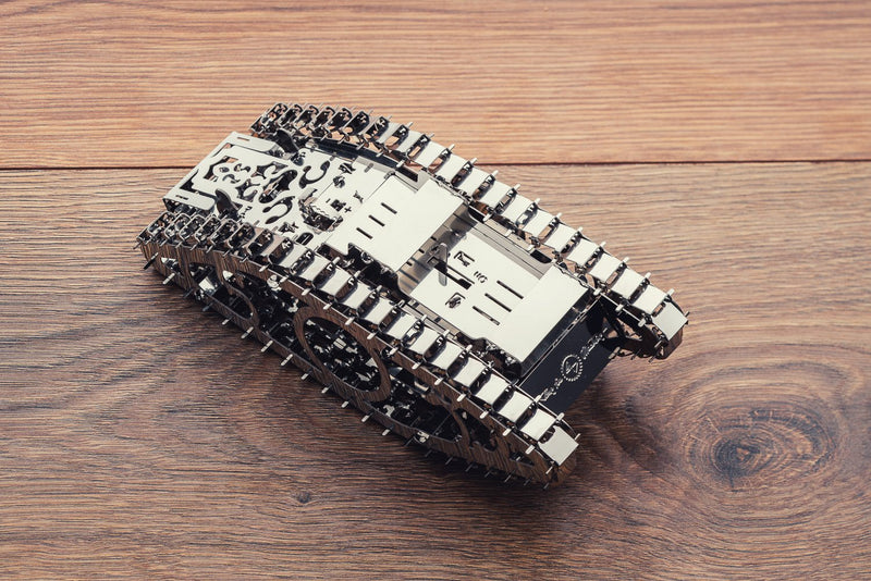 Marvel Tank, Metal toy, Time 4 Machine, DIY metal toy