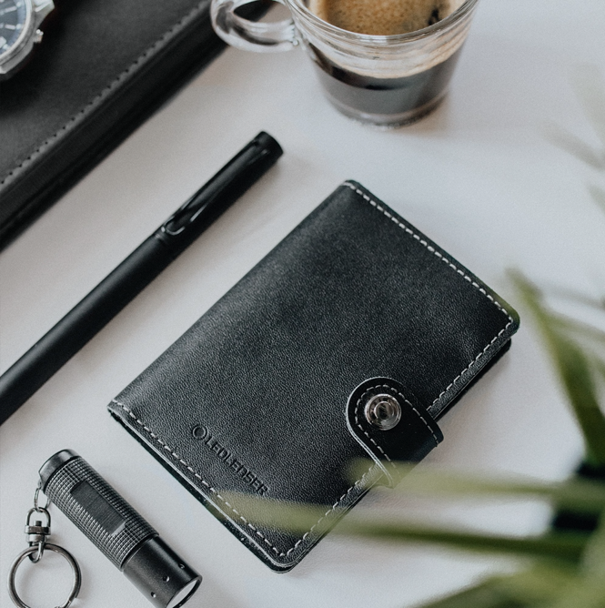 Ledlenser Launches the World's First Wallet with a Light