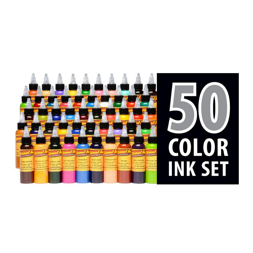 Eternal Ink - Silver 50 Colour Set