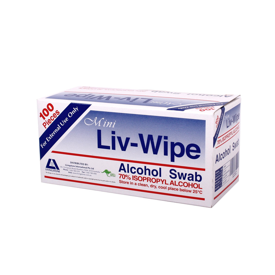 Alcohol Skin Cleanse Wipes