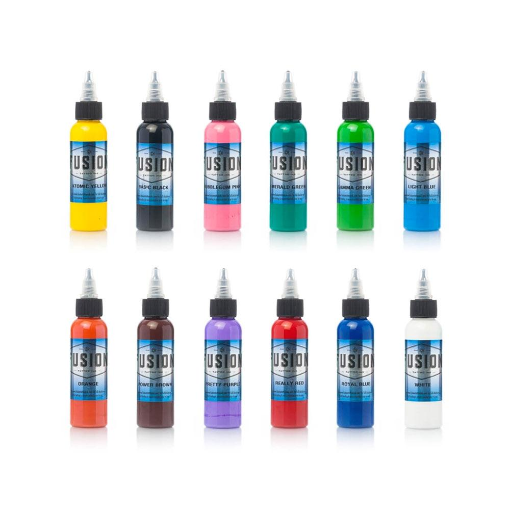 Fusion Ink - 12 Colour Sample Set