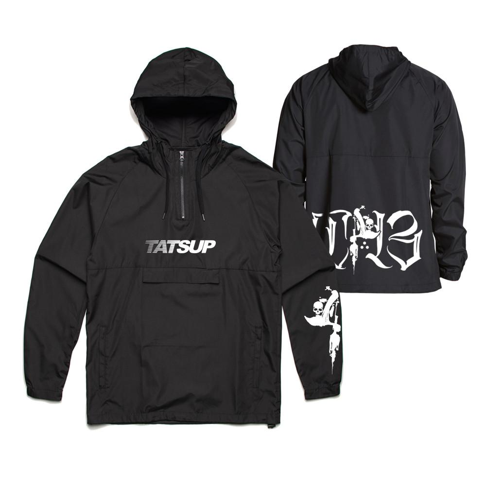 Tatsup - T-13 Windbreaker (Black)