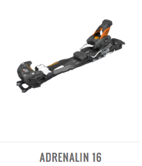 4FRNT Adrenalin 16 Backcountry Touring Bindings