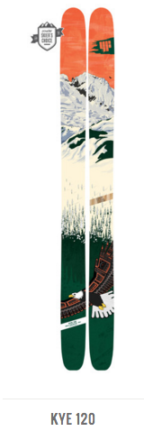 4FRNT Kye 120 Backcountry Touring Ski