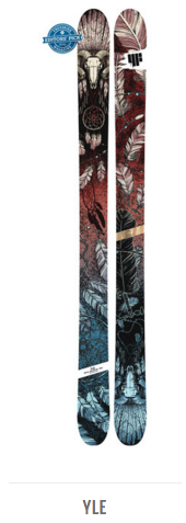 4FRNT Yle Backcountry Touring Ski