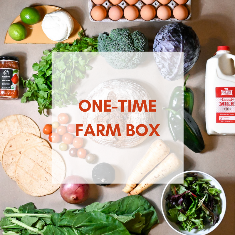 Order One Time Farm Box to be Delivered on 4/21