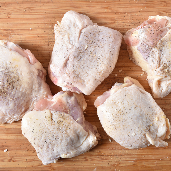 Chicken Thighs from Goffle Road Poultry Farm