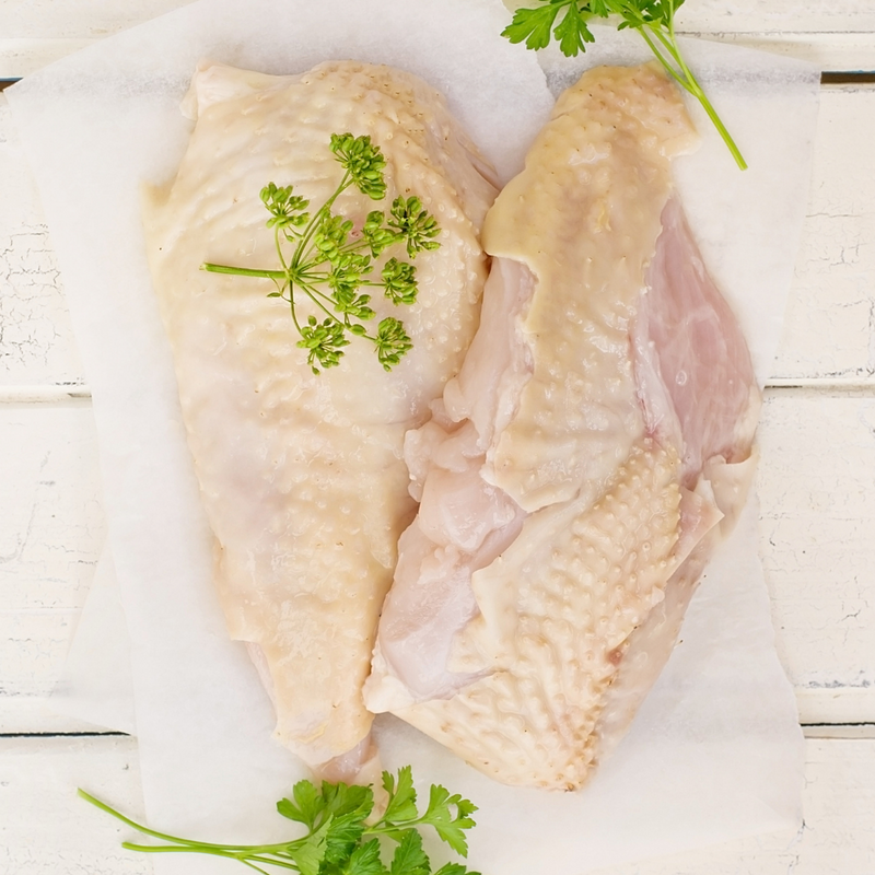 Bone-In Chicken Breasts from Goffle Road Poultry Farm