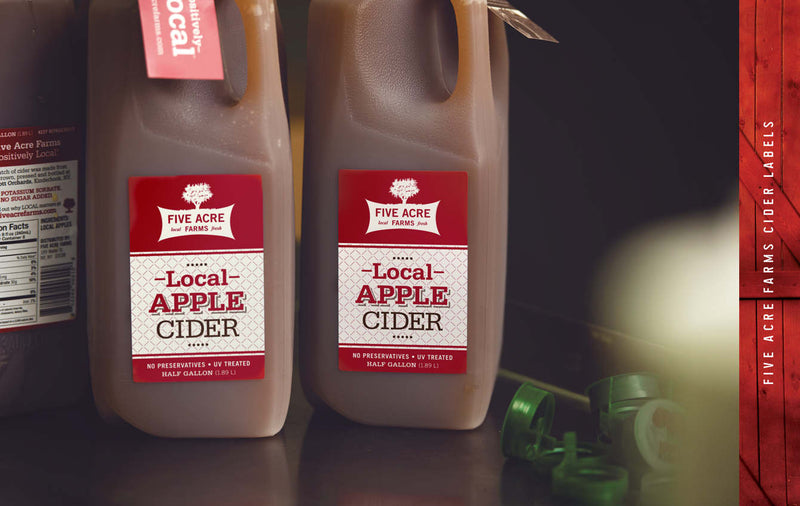 Five Acre Farms Apple Cider
