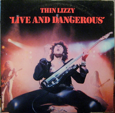 Live and Dangerous by Thin Lizzy - Vintage Vinyl