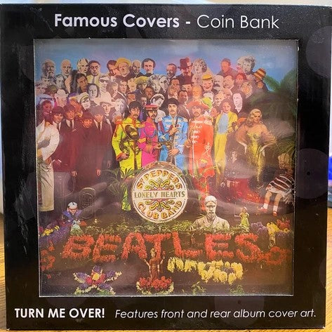 Sgt Peppers Lonely Hearts Club Band by The Beatles - Vintage Album Cover