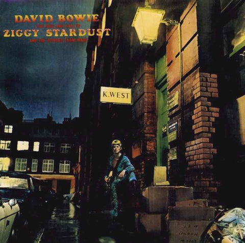 The Rise and Fall of Ziggy Stardust and the Spiders from Mars by David Bowie - Vintage Album Edition
