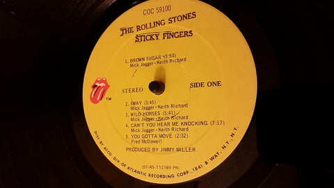 Sticky Fingers by The Rolling Stones - Vintage Vinyl