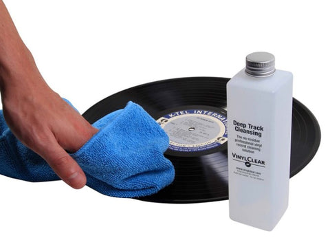 Wet Cleaning for Vinyl Records