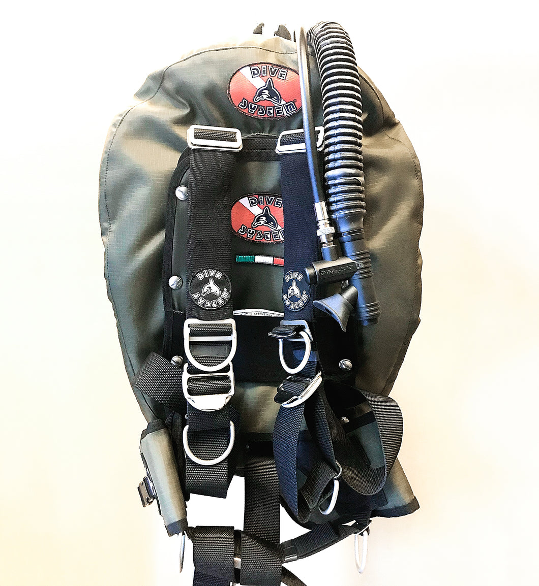 Dive System iX3M BCD with Donut for Single Tank (Carbon)