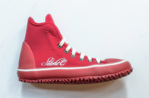 Dive Sneakers High Cut in Red