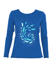 Load image into Gallery viewer, Prawno Nautilus Sun Shirt (Royal Blue)