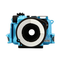 Load image into Gallery viewer, Umi-umi Camera Housing TG6 in Norse Blue
