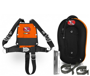 Dive System iX3M BCD with Donut for Single Tank (Aluminium)