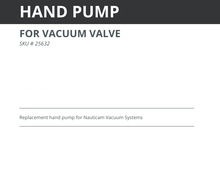 Load image into Gallery viewer, Nauticam Hand Pump
