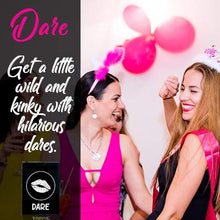 Load image into Gallery viewer, Bachelorette Party Games | 3-in-1 Game to Celebrate the Bride to Be | Fun Drinking Games and Dares for Girls' Night Out! | Essential Bachelorette Party Supplies/Girls Night Out Party Supplies