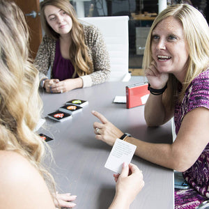 3-in-1 Funny Office Game and Conversation Starter | Team Building Card Game with 150 Icebreakers | Perfect for an Office Party or Corporate Retreat | Amazing Coworker Gift or Desk Toy!