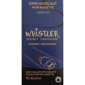 Dark Hazelnut Chocolate - Whistler Chocolate