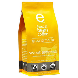 Ground Coffee  - Sweet Espresso - Ethical Bean Coffee