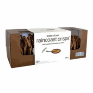 Raincoast Crisps - Seed Crackers - Lesley Stowe