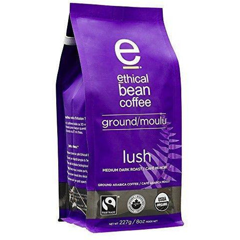 Ground Coffee - Lush - Ethical Bean Coffee