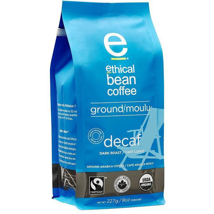 Ground Coffee - Decaf - Ethical Bean Coffee