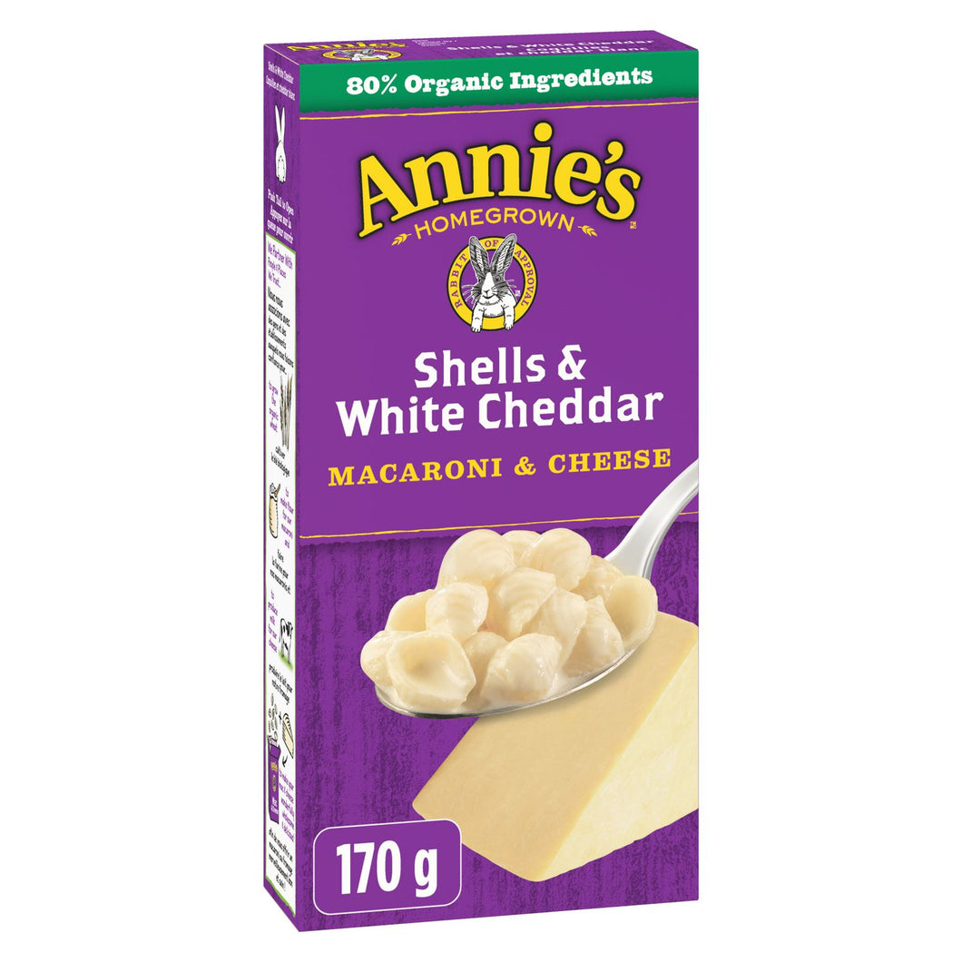 Mac and Cheese (Shells & White Cheddar) - Annie's Homegrown