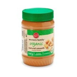 Organic Natural Peanut Butter - Western Family