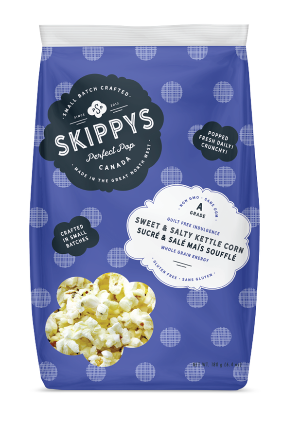 Sweet & Salty gourmet kettle popcorn - Skippys big bag