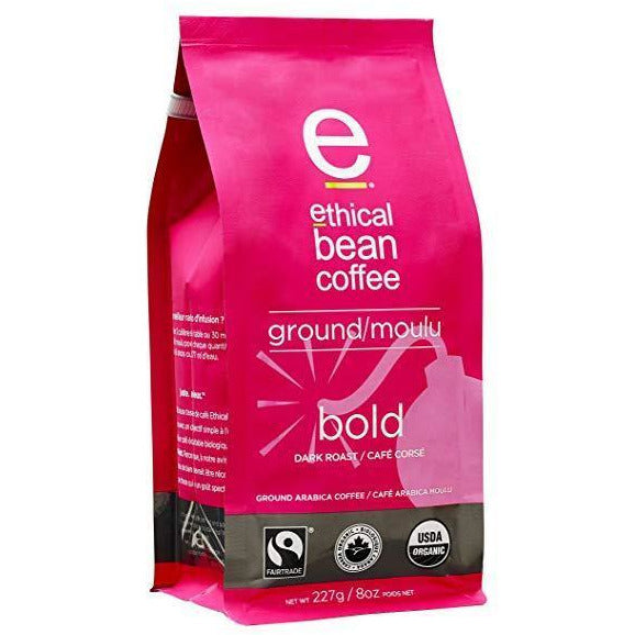 Ground Coffee - Bold - Ethical Bean Coffee