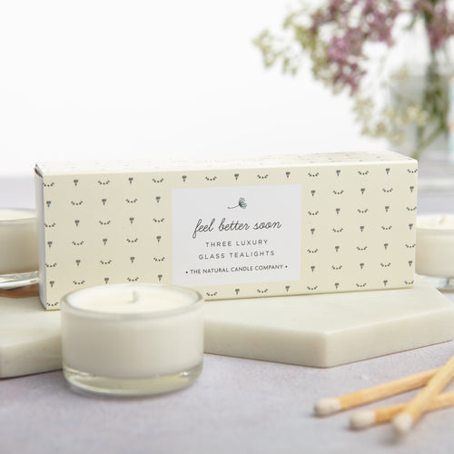Get Well Soon Tealights
