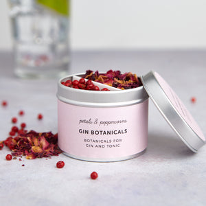 Petals & Peppercorns Gin Botanicals