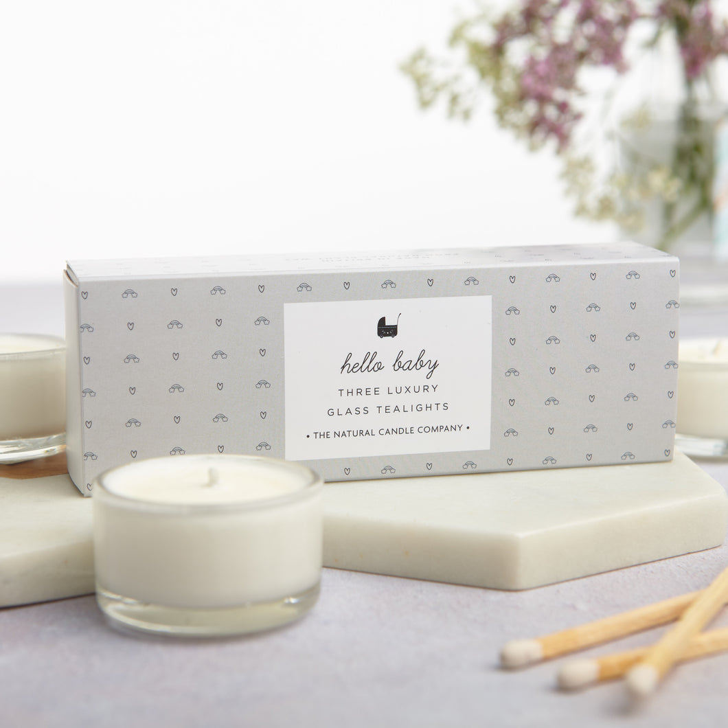 'Hello Baby' Tealights