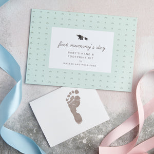 'First Mummy's Day' Hand & Footprint Kit